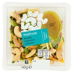 192 cal Waitrose World Deli Noodle, Butternut & Cashews