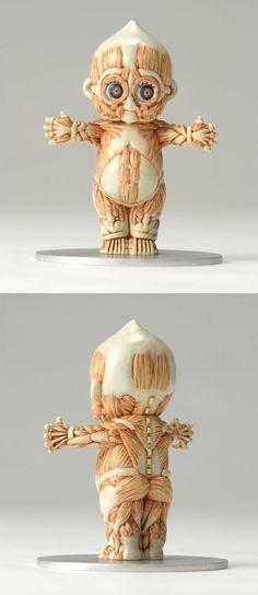 Baby - anatomy of a kewpie doll - by Masao Kinoshita