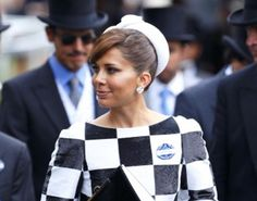 Princess Haya Bint Al Hussein of Jordan, Sheikha of Dubai, June 19, 2013   The Royal Hats Blog
