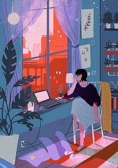 Art And Illustration, Illustrations And Posters, Scenery Wallpaper, Anime Scenery, Aesthetic Art, Unique Art, Cute Art, Art Inspo, Art Girl
