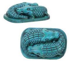 Amazon.com: Egyptian Art Collectible Crocodiles Egypt Figurine: Home & Kitchen