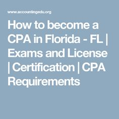 how to get cpa license in florida