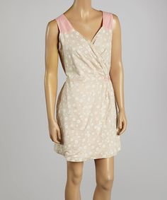 Another great find on #zulily! Nick & Mo Pink Field of Daisies Sleeveless Dress by Nick & Mo #zulilyfinds