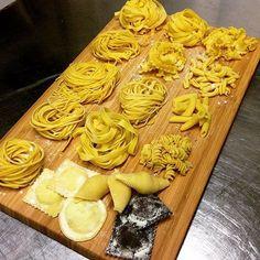 Handmade Pasta  Italian Style. Which one You wanna Try?  #TRUFFLEITALIA #pasta #handmade #italy thanks @degustibusofia by truffle.italia