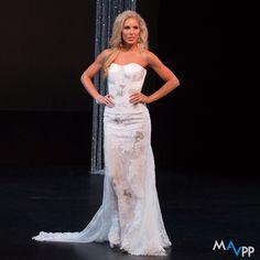 Miss Tennessee US, Jordan Davis in a Juan Carlos Pinera gown.