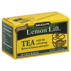 Bigelow Lemon Lift Tea Pack of 6 Review Buy Now