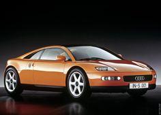 1991 Audi quattro Spyder Concept #audi1991
