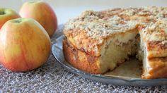 KOTONA: Omena-rahkakakku Cake Recipes, Dessert Recipes, Desserts, Yummy Cakes, No Bake Cake, Food Inspiration, Sweet Tooth, Good Food, Food And Drink