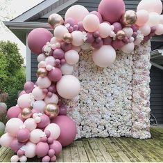 Balloon Arch Garland Decorating Strip Kit 2 Rolls 16 Feet Balloon Tape Strips in 2020 Birthday Balloon Decorations, Diy Wedding Decorations, Birthday Balloons, Baby Shower Decorations, Baby Shower Garland, Bridal Shower Balloons, Wedding Balloons, Balloon Backdrop, Balloon Garland