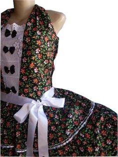 Vestidos de festa Junina - Fotos e Modelos 9799e7a76f8