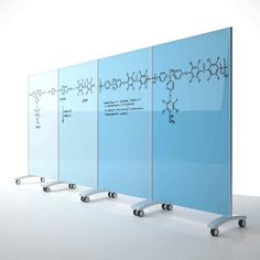 how to make a clear glass whiteboard