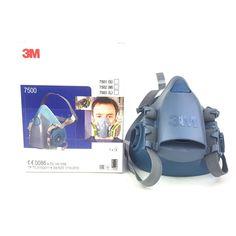 Bekväm halvmask från 3M tillverkad av mjukt silikongummi för bästa komfort och prestanda. Stort sortiment av gasfilter.