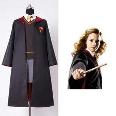 Harry Potter Gryffindor Uniforme Scolaire Hermione Granger Déguisement D'enfant