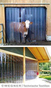 PVC Lamellen für Viehhaltung - WEGNER24.EU