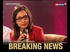 CNN NEWS OCT02   (Mr. Navin M Raheja in Special Panel - India Demands Safety Standards.)