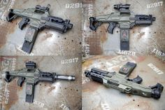alien colonial marines rifle by on DeviantArt Paintball, M4 Airsoft, Modified Nerf Guns, Aliens Colonial Marines, Nerf Mod, Star Wars Design, Future Weapons, Alien Vs Predator, Fire Powers