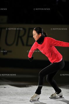 Mao Asada (JPN),.NOVEMBER 25, 2012 - Figure Skating :.ISU Grand Prix of Figure Skating 2012/2013, NHK Trophy, practice for Gala Exhibition at Sekisui Heim Super Arena Grande21 in Miyagi, Japan. (Photo by AFLO)
