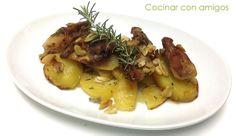 Cocinar con amigos: Conejo asado con patatas y ajo