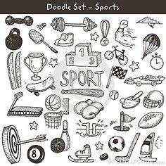Doodle sports.