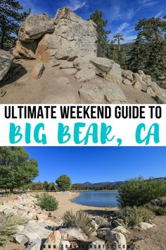 Looking for the perfect Southern California mountain escape? Big Bear Lake is the ultimate weekend getaway with so many things to do like hiking and kayaking. Explore the best ideas on what to do on a weekend in Big Bear! #bigbear #california #californiatravel Lakes In California, California Mountains, California Travel, Southern California, Big Bear City, Big Bear Lake, Usa Travel Guide, Travel Usa, Weekend Trips