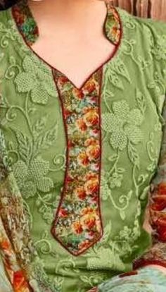clothes Chudidhar Designs, Chudidhar Neck Designs, Salwar Neck Designs, Kurta Neck Design, Neck Designs For Suits, Neckline Designs, Kurta Designs Women, Blouse Neck Designs, Neck Patterns For Kurtis