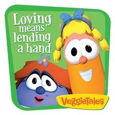 Veggie Tales Lending A Hand VeggieTales Wall Graphics
