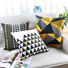 5 Incredible Useful Tips: Cheap Decorative Pillows Couch decorative pillows bedroom wall art.Neutral Decorative Pillows Black And White decorative pillows couch purple.Decorative Pillows On Sofa West Elm. Cheap Decorative Pillows, Decorative Pillow Cases, Sofa Pillows, Accent Pillows, Sofa Throw, Sofa Bed, Geometric Cushions, Printed Cushions, Scatter Cushions
