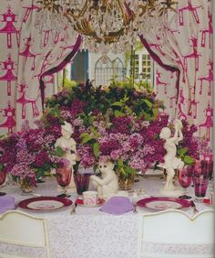 Saturday Inspiration - In the Chinoiserie Garden