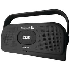 Perfect for any body of water that you are gonna be around! PYLE PBTW20BK Surf Sound Waterproof Bluetooth� Stereo Speaker (Black) - $76.28 #onselz