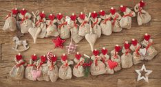 These DIY advent calendars are the cutest ways to pass the days until Christmas. From lights to garlands and more creative inspiration, we've got the best advent calendar ideas right here. Homemade Calendar, Homemade Advent Calendars, Cool Advent Calendars, Wooden Advent Calendar, Christmas Crafts For Adults, Christmas Diy, Christmas Decorations, Christmas Tables, Nordic Christmas