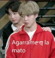 Bts Meme Faces, Funny Faces, Bts Dancing, Bts Face, Bts Memes Hilarious, Blackpink Memes, Bts Reactions, Spanish Memes, Bts Chibi