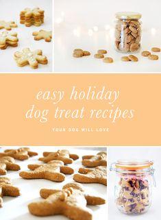 5 Easy Christmas Dog Treat Recipes | Pretty Fluffy | www.prettyfluffy.com