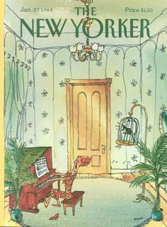George Booth | The New Yorker Covers  January 23, 1984