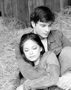 Tom Welling and Kristen Kreuk...loved Smallville!