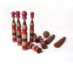 Vintage Bowling Pins Playrooms Pinterest Playrooms
