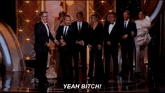 """When Aaron Paul """"YEAH BITCHED"""" the entire crowd: 