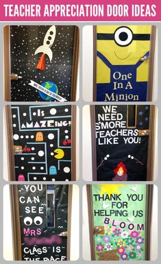 This morning I woke up early to go decorate the door for my daughter's teacher. Our school is one of many that have a tradition where homeroom moms decorate the classroom doors for teacher appreciation week. Since Aimée and I also headed up the SNAP Door Decorating contest, I guess you could say we are...