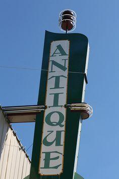 Antique Sign...Guthrie, Oklahoma