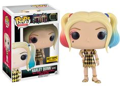 Suicide Squad Harley Quinn Gown Exclusive Heroes Suicide Squad's lovely and mischievous Harley Quinn Exclusive POP! vinyl from Funko featuring her in a gold and black gown from the upcoming feature film. Harley Quinn, Funk Pop, Disney Infinity, Team Fortress 2, Pop Vinyl Figures, Batman Beyond, Mega Man, Nightmare Before Christmas, Marvel 616