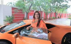 How BJP MLAs wife rammed brand new Lamborghini into autorickshaw