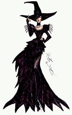 Disney's 'Oz' by Hayden Williams - Wicked Witch of the West