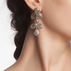 Labradorite drops of joy Earrings by toosis on Etsy, $156.00