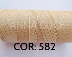 COR: 387 Choose from 10 - 20m waxed thread LINHASITA thick, wire 1mm for macramé, materials.     The linhasita leads the industry, durable and can be washed without risk of damage. And suitable for work on macramé, kumihimo, ect.    The Linhasita cable can also be used for the leather, footwear, sewing, and a whole series of other crafts.    This polyester cord wax is very easy to handle and burns along the ends remain perfect even if other threads have been added.