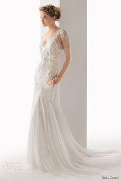 Soft by Rosa Clará 2014 Wedding Dresses | Wedding Inspo #weddingdresses #weddingwednesday #weddingplanning #bridetobe #weddingideas