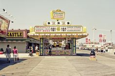 Midway Steak House, located directly in the middle of Seaside Heights Boardwalk, New Jersey. Undoubtedly, the best place in the world to stumble upon after a night of drinking.