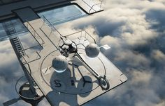 Oblivion's Bubbleship /by ?? #SciFi #movie