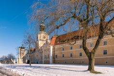 Monastry / Austria by ChristianThür Photography on Creative Market Austria, Ppt Template, Christian, Mansions, House Styles, Photography, Outdoor, Creative, Architecture