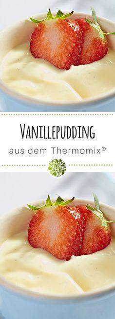 6x Thermomix®️ Pudding - hol Dir das Grundrezept für Vanillepudding aus TM5®️ oder TM31 - die Kids werden Dich dafür lieben! #thermomix #thermomixrezepte #willmixen