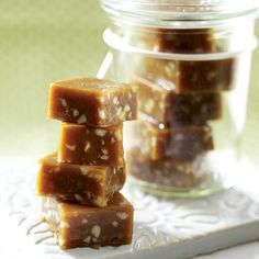 Geschenke aus der Küche - salz-karamellen9  Rezept