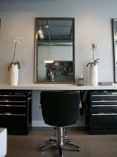 My salon style on pinterest salons salon stations and for Used salon stations